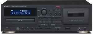 AD-850 CD-player/Cassette/USB Black
