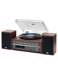 MC-D800 Turntable/CD-player/BT Cherry